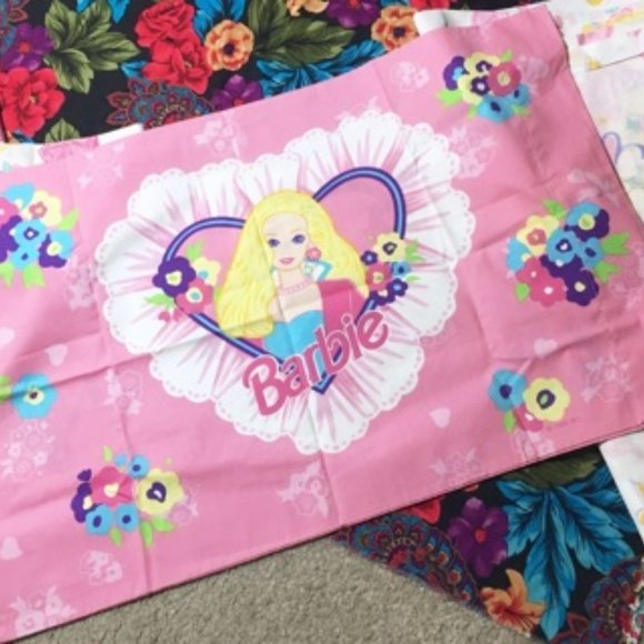 Vintage Barbie Image Barbie Woven Throw And Pillow
